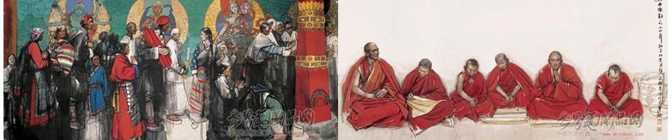 (释慧禅),生于1956年,1980年毕业于中央美术学院国画系研究生班,29岁成为北京画院一级画家,美术界最年轻的教授,是中国美术协会会员,中央美术学院及首都师范大学美术系客座教授。史国良的作品《刻经