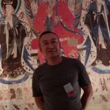 王建军和他的山水画作品 (4图)